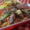 ベイカナーズ - 料理写真:takeout用 ナスとほうれん草のミートソース
