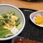 花どり - サラダって、生の白菜か~い