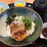 花どり - 鶏つくね丼:¥1,100