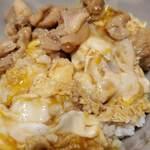 赤坂うまや うちのたまご直売所 - 肉と卵が分離
