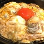 青山 鶏味座 - 究極の親子丼(軍鶏)アップ