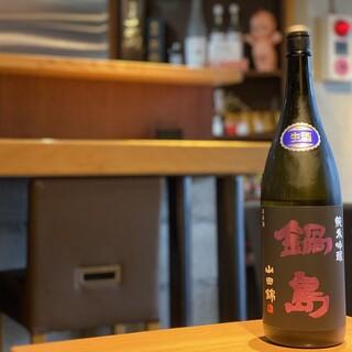 【旬の日本酒をご用意】
