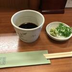 蕎麦工房 膳 - 辛汁と薬味