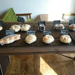 カフェ ハナビ - 料理写真:パンコーナー①