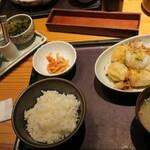 博多もつ鍋 やまや - ・「本日の日替わり(¥1200)」