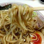 中華そば ラッキー - 麺
