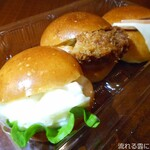 元町ぼんぱん - 料理写真:プチサンド