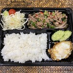 チャーンタイ レストラン - ガパオムーサップ弁当¥950(予約制)