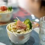 カラチの空 - 2020.4 野菜サラダ