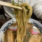 山為食堂 - こっちは普通の麺