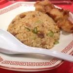 中華そば ふじい - 昼食セット チャーハン&ミニ唐揚げ