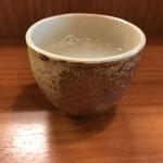 蕎麦工房 膳 - 蕎麦湯