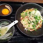 中華飯店 龍 - 料理写真:汁なしタンタン麺