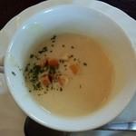 レストラン とまと - ミニオムライスセット:スープ