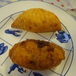 神南カリー - 神南カリーパン、キーマカリーパン