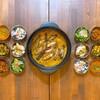 北摂スパイス研究所 - 料理写真:【ディナー限定!スパイス御膳】自家製のスパイス出汁で炊き込んだインドの高級米「バスマティライス」と6種のスパイス小鉢が付いた贅沢なスパイス御膳です!