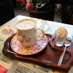 喫茶ツヅキ - ここから最後の仕上げに