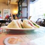 喫茶ツヅキ - 明方ハムサンド