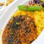 夜ノ焼魚 ちょーちょむすび - 料理写真:ラムキーマカレー。