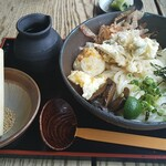 すじかま - 料理写真:ぶっかけうどん(冷)