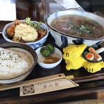 津の勢 - 料理写真:かけうどん520円(税込)+得々セット350円(税込)