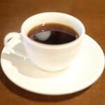 まきや - ケーキセット 800円 のコーヒー