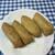 豆狸 - 料理写真:豆狸いなり(90円 +Tax)×2 & 春ごぼういなり(170円 + Tax)×2