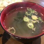 鶏バル 水口 - スープ