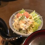 鶏バル 水口 - サラダ