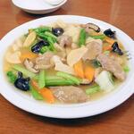 夙川さくら亭 - 合鴨と野菜のあんかけ