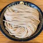 中華蕎麦うゑず - 麺(中)