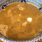 中華蕎麦うゑず - スープ割り
