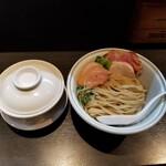 らーめん三極志 - 鴨白湯つけ麺