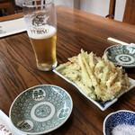 129365022 - 地葱の天ぷら600円