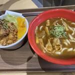 和食麺処 つるあん - 「道の駅セット」(1,160円)
