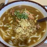 和食麺処 つるあん - 唐揚カレーうどん大(1,050円)