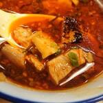 麺屋福丸 - つけ汁の炙り鴨。この方が好みではある。