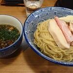 麺屋福丸 - 特製鴨だし魚介つけ麺+大盛。