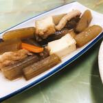 定食のヤシロ - フキ煮