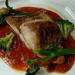 Dining Chez Isao - 【ランチ】イトヨリダイのポアレ1200円