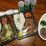 えきにくヤンボー - この日のランチは2人のムスメとお弁当!ちょっと楽しい。