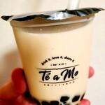 Te a Mo - ジャスミンチーズクリームタピオカミルクティー (550円)