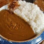 ブロンコ - カレー(ドリンクセット)(1200円)