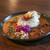 丸の内スパイス - 料理写真:2種のカレーのあいがけ インディアンバターチキンカレー&牛すじカレー☆
