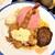 食工房 あらじん - 200420月 東京 食工房 あらじん ハンバーグ・エビフライ・白身魚・チキン南蛮盛り