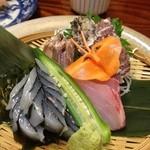 小樽旬菜 華かぐら - 3点盛り