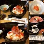丸松 - ぜいたくまかない丼(特上 デザート・コーヒー付) ¥1,628-