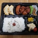肉汁餃子のもりや - 唐揚げ定食2020.04.20