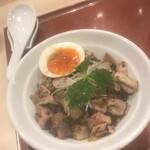 麦と麺助 - 炙りチャーシュー丼