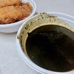 焼とり鶏梵梵 - 鷄カツカレー 黒ルー【並】 ¥980